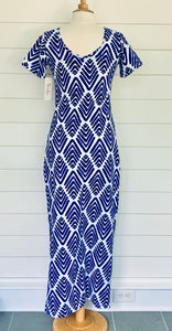 Florence Dress Arrowhead Cobalt