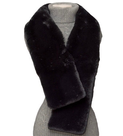 Faux Fur Reversible Scarf