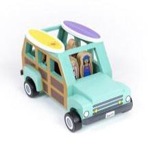 Wooden Magnetic Surf's Up Truck