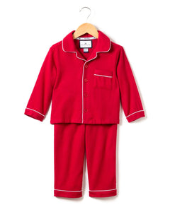 Red Flannel Pajama Set