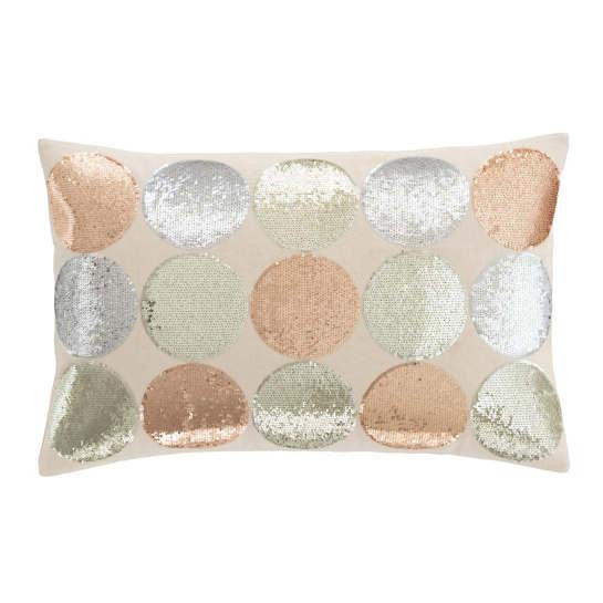Sequin Dot Pillow