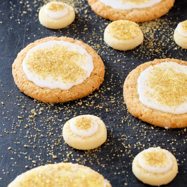 Mrs. Claus Gold Cookie Sprinkles