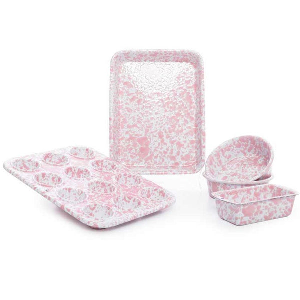 Splatterware-Enamelware Children's First Bake Set