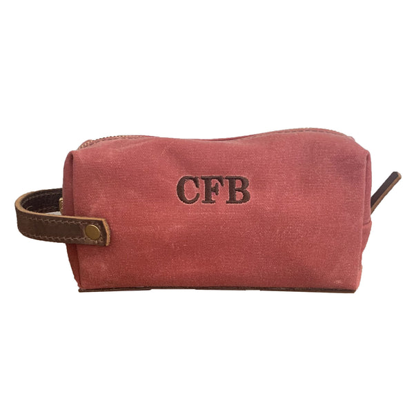Wax Canvas Dopp Kit Medium