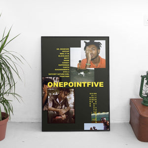 Amine - ONEPOINTFIVE Poster - The Fresh Stuff