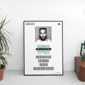 Amine - Shimmy Card Poster - The Fresh Stuff