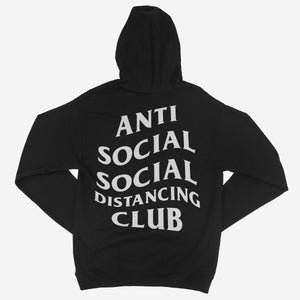 Anti Social Social Distancing Club Unisex Hoodie - The Fresh Stuff