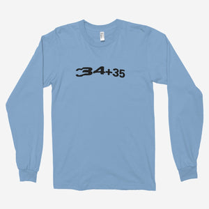 Ariana Grande - 34+35 (Positions) Unisex Long Sleeve T-Shirt - The Fresh Stuff