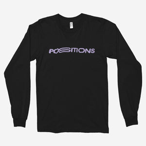 Ariana Grande - Positions Unisex Long Sleeve T-Shirt - The Fresh Stuff