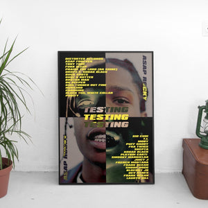 ASAP Rocky - Testing Poster - The Fresh Stuff