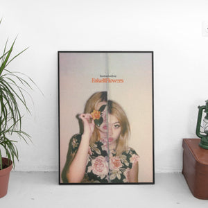 Beabadoobee - Fake It Flowers Cover Art Poster - The Fresh Stuff