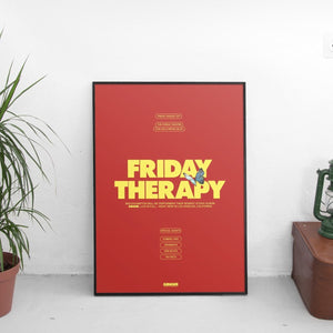 Brockhampton - Friday Therapy Poster - The Fresh Stuff