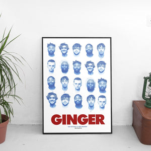 Brockhampton - Ginger Faces Poster - The Fresh Stuff