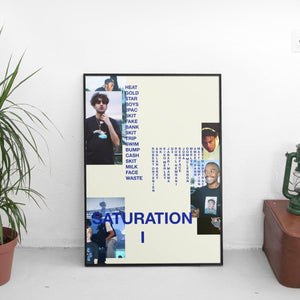Brockhampton - Saturation I (1) Poster - The Fresh Stuff