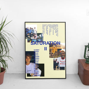 Brockhampton - Saturation II (2) Poster - The Fresh Stuff