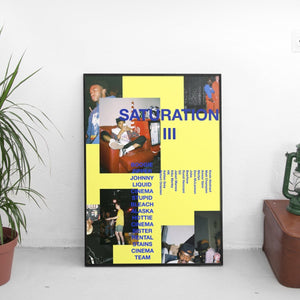 Brockhampton - Saturation III (3) Poster - The Fresh Stuff