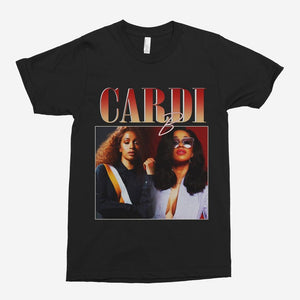Cardi B Vintage Unisex T-Shirt - The Fresh Stuff