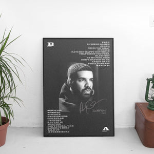 Drake - Scorpion Poster - The Fresh Stuff