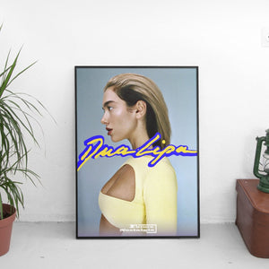 Dua Lipa - Future Nostalgia Slick Poster - The Fresh Stuff