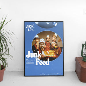 Easy Life - Junk Food Cover Art Poster - The Fresh Stuff