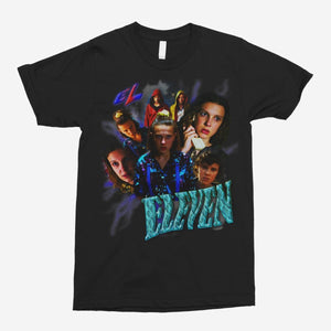 Eleven Retro - Stranger Things Vintage Unisex T-Shirt - The Fresh Stuff
