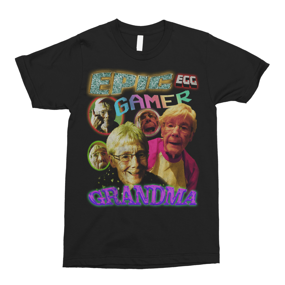 Epic Gamer Grandma - Vintage Bootleg Unisex T-Shirt - The Fresh Stuff