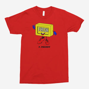 F. Freddy Unisex T-Shirt - The Fresh Stuff