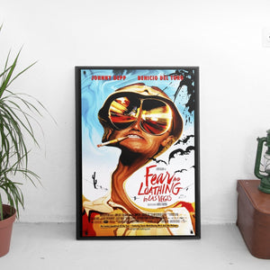 Fear And Loathing In Las Vegas Movie Poster - The Fresh Stuff