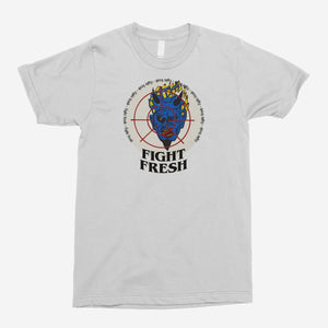 Fight Fresh - Fired Devil Unisex T-Shirt - The Fresh Stuff