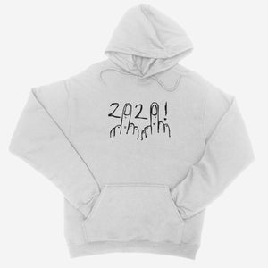 F**k 2020 White Unisex Hoodie - The Fresh Stuff