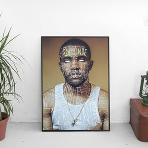 Frank Ocean - Blonde Scribble Poster - The Fresh Stuff