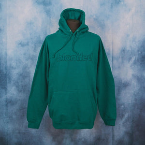Frank Ocean - Blonded Teal Unisex Embroidered Hoodie - The Fresh Stuff