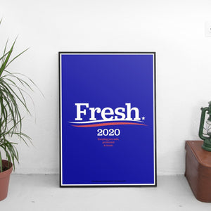 Fresh 2020 Poster - The Fresh Stuff