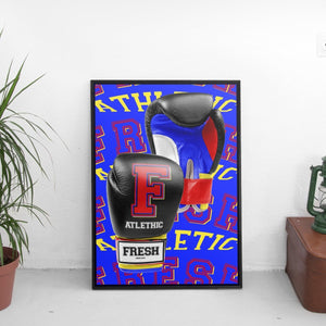 Fresh Athletic - Boxing Gloves Poster - The Fresh Stuff