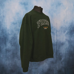 Fresh Athletic College Unisex Embroidered Sweater - The Fresh Stuff