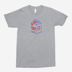 Fresh Milk Unisex T-Shirt - The Fresh Stuff
