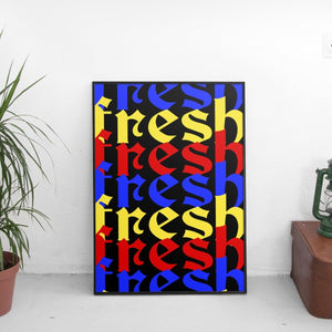 Fresh Overlay Poster - The Fresh Stuff