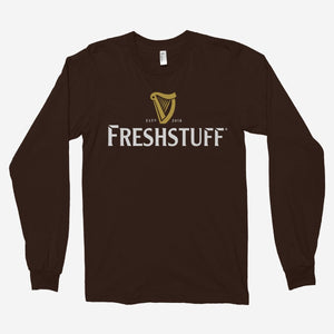Fresh x Guinness Unisex Long Sleeve T-Shirt - The Fresh Stuff