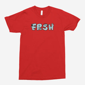 FRSH Abstract Characters Unisex T-Shirt - The Fresh Stuff