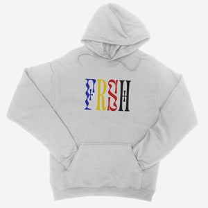 FRSH Multi Logo Embroidered Unisex Hoodie - The Fresh Stuff