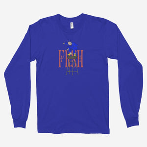 FRSH Skating Gramps Unisex Long Sleeve T-Shirt - The Fresh Stuff