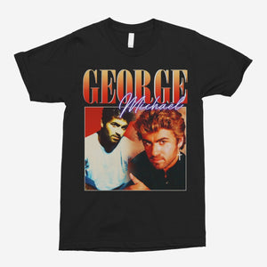 George Michael Vintage Unisex T-Shirt - The Fresh Stuff