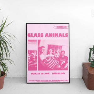 Glass Animals - Heatwaves Poster - The Fresh Stuff