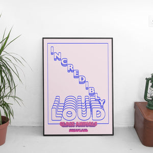 Glass Animals - Incredibly Loud (Dreamland) Poster - The Fresh Stuff