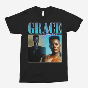 Grace Jones Vintage Unisex T-Shirt - The Fresh Stuff