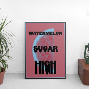 Harry Styles - Watermelon Sugar High Poster - The Fresh Stuff