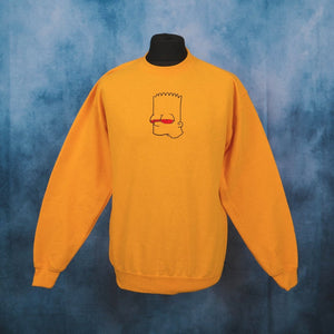 High Bart Yellow Unisex Embroidered Sweater - The Fresh Stuff