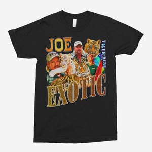 Joe Exotic/Tiger King (Alt) Vintage Unisex T-Shirt - The Fresh Stuff