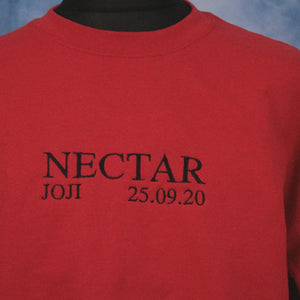 Joji - Nectar Unisex Embroidered Sweater - The Fresh Stuff