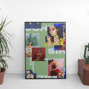Kali Uchis (Medley) Poster - The Fresh Stuff